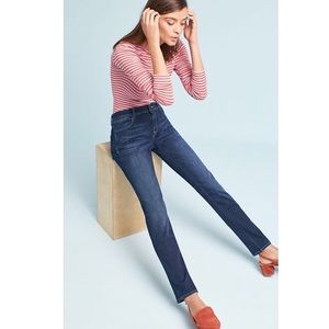 DL1961 Coco Curvy Straight Jeans in Color Liberty